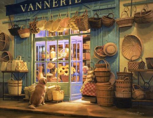 手作り篭の店 Vannerie