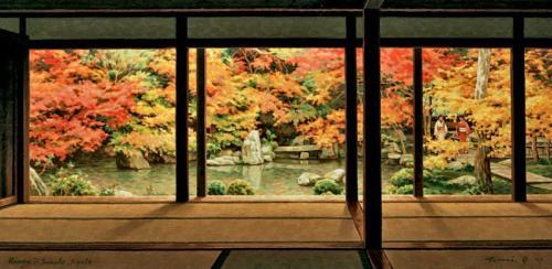 フレームド・オータム・カラー Framed Autumn Colors